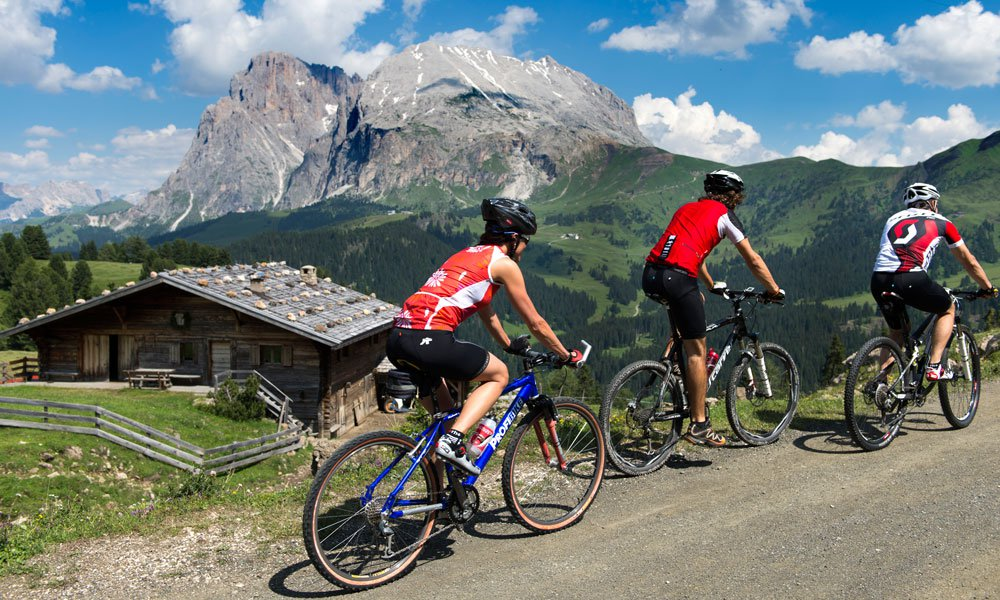 Bike vacation in the Dolomites – Pure fun