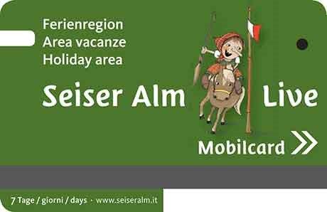 Alpe di Siusi Live Mobilcard