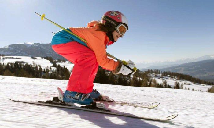 Skiurlaub auf der Seiser Alm ist ein Spaß für die ganze Familie
